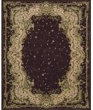 RugStudio presents Nourison Chateau Provence SB-01 Plum Hand-Tufted, Best Quality Area Rug