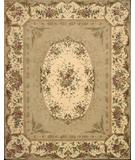 RugStudio presents Nourison Chateau Provence SB-09 Light Gold Hand-Tufted, Best Quality Area Rug