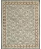 RugStudio presents Nourison Symphony SYM-01 Light Green Hand-Tufted, Best Quality Area Rug