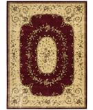 RugStudio presents Rugstudio Sample Sale 22931R Burgundy Machine Woven, Better Quality Area Rug