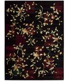 RugStudio presents Nourison Chambord CM-10 Black Machine Woven, Better Quality Area Rug