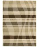RugStudio presents Nourison Elements ELE-04 Beige-Brown Machine Woven, Good Quality Area Rug