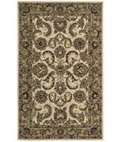 RugStudio presents Nourison India House IH-47 Ivory-Gold Hand-Tufted, Good Quality Area Rug