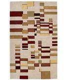 RugStudio presents Nourison Dimensions ND-20 Beige Hand-Tufted, Better Quality Area Rug