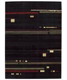 RugStudio presents Nourison Parallels PR-04 Black Machine Woven, Better Quality Area Rug