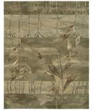 RugStudio presents Nourison Reflections RF-02 Sage Hand-Tufted, Best Quality Area Rug