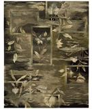 RugStudio presents Nourison Reflections RF-03 Black Hand-Tufted, Best Quality Area Rug