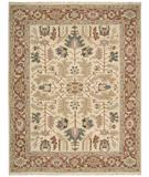 RugStudio presents Nourison Nourmak S-147 Light Gold Flat-Woven Area Rug