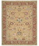 RugStudio presents Nourison Nourmak S-169 Gold Flat-Woven Area Rug