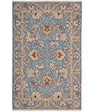 RugStudio presents Rugstudio Sample Sale 23323R Blue Flat-Woven Area Rug