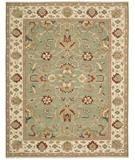 RugStudio presents Nourison Suf-I-Noor SF-02 Green Hand-Knotted, Better Quality Area Rug