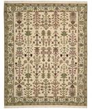 RugStudio presents Nourison Suf-I-Noor SF-03 Ivory Hand-Knotted, Better Quality Area Rug