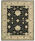 RugStudio presents Nourison Suf-I-Noor SF-05 Black Hand-Knotted, Better Quality Area Rug