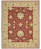 RugStudio presents Nourison Suf-I-Noor SF-05 Red Hand-Knotted, Better Quality Area Rug