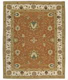 RugStudio presents Nourison Suf-I-Noor SF-05 Rust Hand-Knotted, Better Quality Area Rug