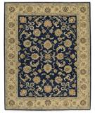RugStudio presents Nourison Suf-I-Noor SF-06 Navy Hand-Knotted, Better Quality Area Rug