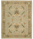 RugStudio presents Nourison Suf-I-Noor SF-36 Light Blue Hand-Knotted, Better Quality Area Rug