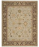 RugStudio presents Nourison Suf-I-Noor SF-42 Grey Hand-Knotted, Better Quality Area Rug
