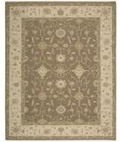 RugStudio presents Nourison Suf-I-Noor SF-42 Mocha Hand-Knotted, Better Quality Area Rug