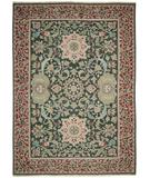RugStudio presents Nourison Nourmak SK-40 Green Flat-Woven Area Rug