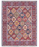 RugStudio presents Nourison Nourmak SK-43 Multi Flat-Woven Area Rug