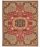 RugStudio presents Nourison Nourmak SK-63 Red Flat-Woven Area Rug