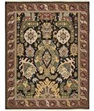 RugStudio presents Nourison Nourmak SK-70 Black Flat-Woven Area Rug