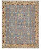 RugStudio presents Nourison Nourmak SK-92 Blue Flat-Woven Area Rug