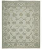 RugStudio presents Nourison Silk Pointe SKP-1 Aqua Hand-Knotted, Best Quality Area Rug