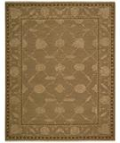 RugStudio presents Nourison Silk Pointe SKP-1 Brown Hand-Knotted, Best Quality Area Rug