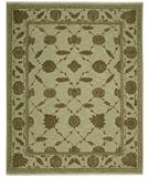 RugStudio presents Nourison Silk Pointe SKP-1 Green Hand-Knotted, Best Quality Area Rug