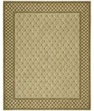 RugStudio presents Nourison Vallencierre VA-26 Light Green Machine Woven, Best Quality Area Rug