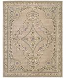 RugStudio presents Nourison Versailles Palace VP-07 Beige Hand-Tufted, Best Quality Area Rug