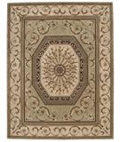 RugStudio presents Nourison Versailles Palace VP-10 Sage Hand-Tufted, Best Quality Area Rug