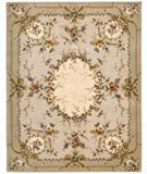 RugStudio presents Nourison Versailles Palace VP-11 Ivory Hand-Tufted, Best Quality Area Rug