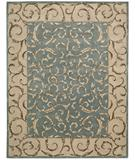 RugStudio presents Nourison Versailles Palace VP-43 Aqua Hand-Tufted, Best Quality Area Rug
