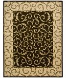 RugStudio presents Nourison Versailles Palace VP-43 Chocolate Hand-Tufted, Best Quality Area Rug