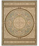 RugStudio presents Nourison Versailles Palace VP-48 Blue Hand-Tufted, Best Quality Area Rug