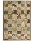 RugStudio presents Nourison Expressions XP-01 Beige Machine Woven, Good Quality Area Rug