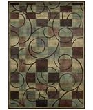 RugStudio presents Nourison Expressions XP-01 Brown Machine Woven, Good Quality Area Rug