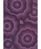 RugStudio presents Nuloom Modella Fendi MSEMD02 Aubergine Hand-Tufted, Good Quality Area Rug