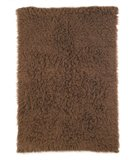 RugStudio presents Nuloom Flokati Standard FFS02 Milk Chocolate Area Rug