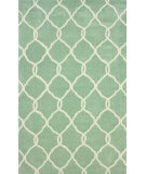 RugStudio presents Nuloom Hand Tufted Circle Trellis Glacier Hand-Tufted, Good Quality Area Rug