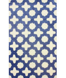 RugStudio presents Nuloom Hand Tufted Leah Blue Hand-Tufted, Good Quality Area Rug