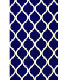 RugStudio presents Nuloom Hand Tufted Marco Royal Blue Hand-Tufted, Good Quality Area Rug