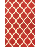 RugStudio presents Nuloom Hand Tufted Marco Red Hand-Tufted, Good Quality Area Rug