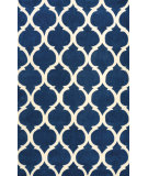 RugStudio presents Nuloom Hand Tufted Marco Navy Hand-Tufted, Good Quality Area Rug