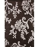 RugStudio presents Nuloom Cine Pasleys Chocolate Hand-Tufted, Good Quality Area Rug