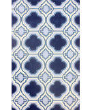 RugStudio presents Nuloom Hand Tufted Giuseppe Blue Hand-Tufted, Good Quality Area Rug