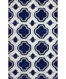 RugStudio presents Nuloom Hand Tufted Giuseppe Navy Hand-Tufted, Good Quality Area Rug